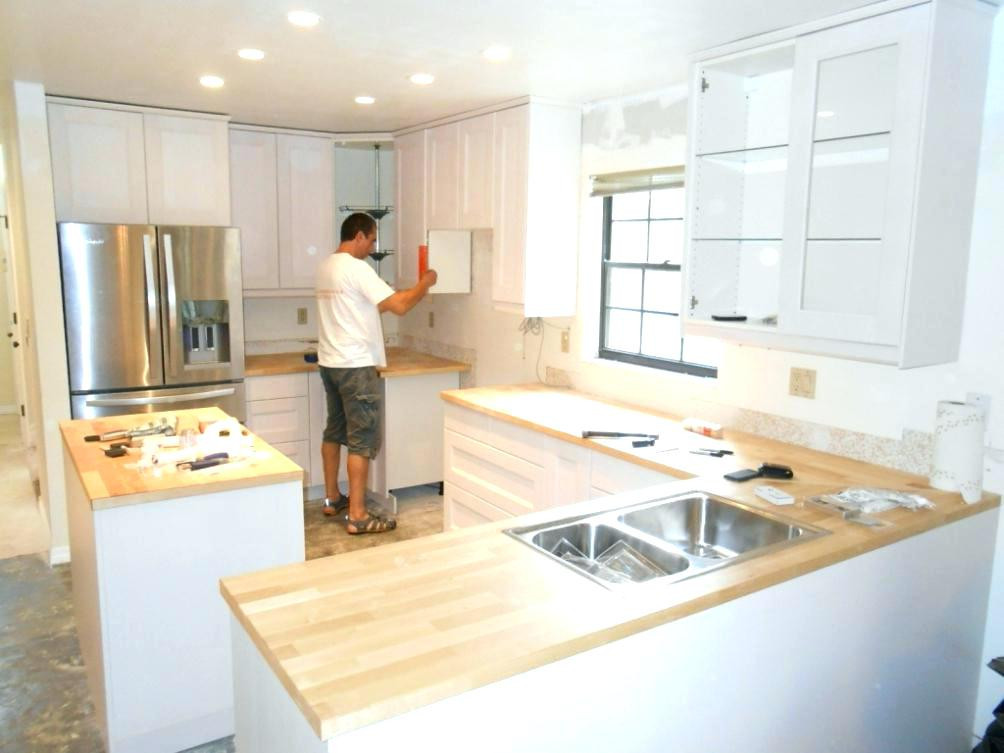 Best ideas about Cost To Install Kitchen Cabinets . Save or Pin Average Cost To Install Kitchen Cabinets Now.