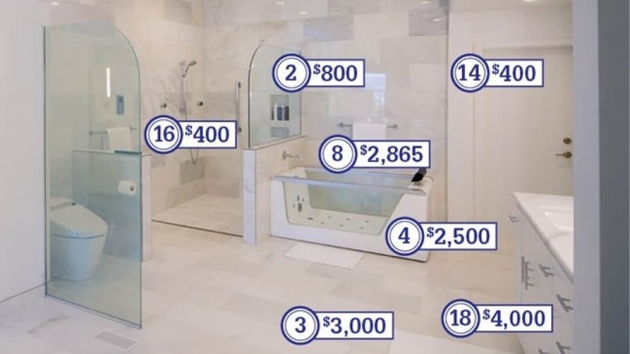 Best ideas about Cost To Remodel Bathroom . Save or Pin How Much Does a Master Bathroom Remodel Cost Now.