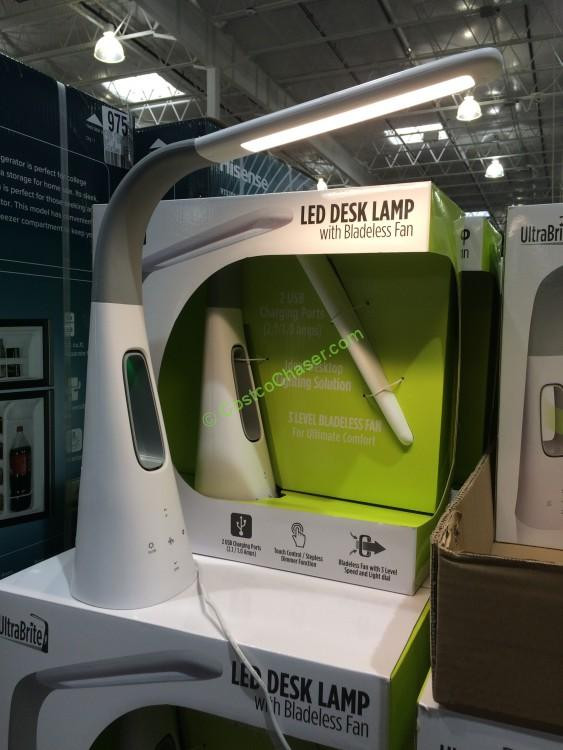 Best ideas about Costco Desk Lamp . Save or Pin Intek Led Desk Lamp with Bladeless Fan Model SL9066 2 Now.