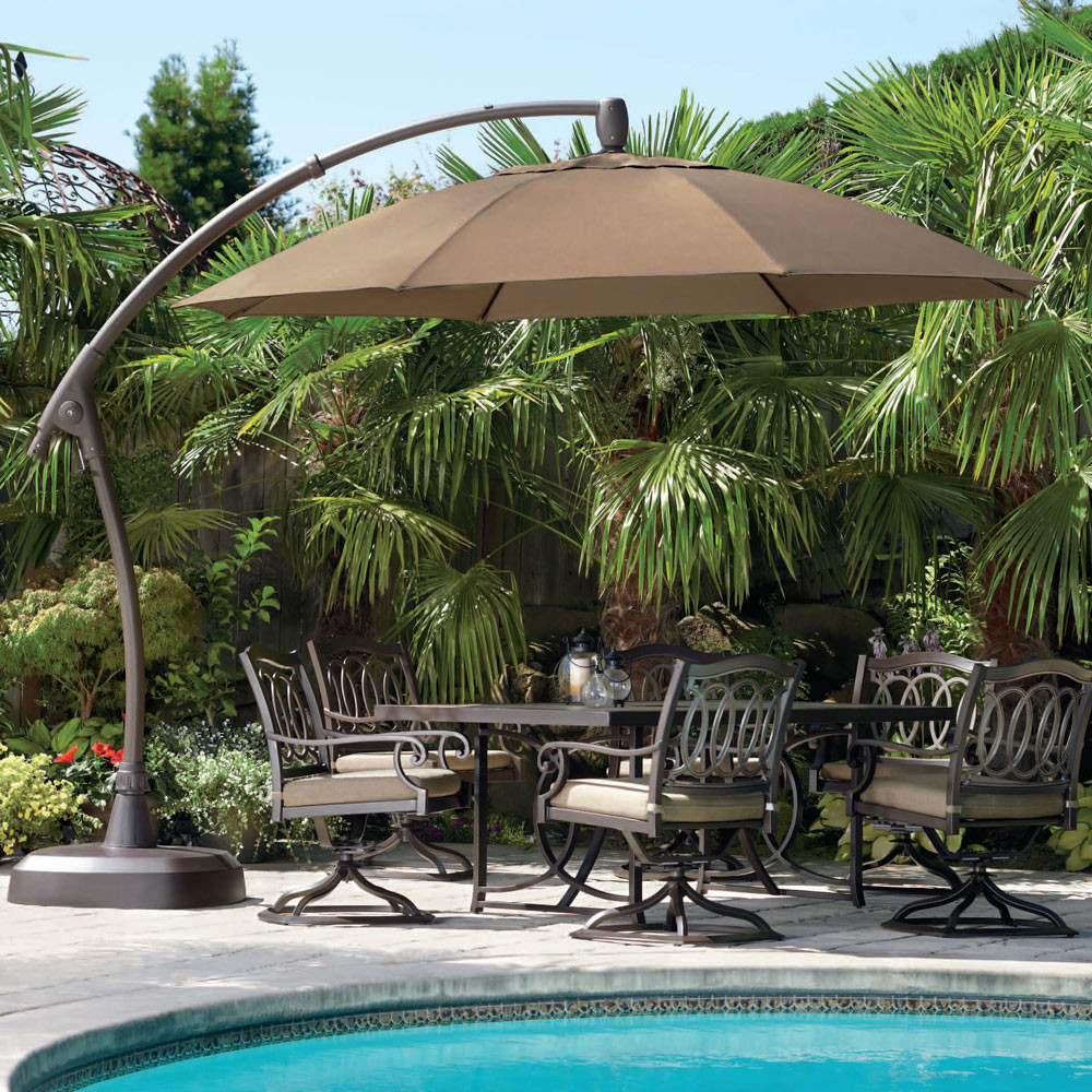 Best ideas about Costco Patio Umbrella . Save or Pin Backyard Stunning Costco fset Umbrella For Best Outdoor Now.