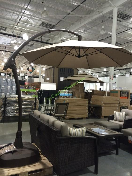 Best ideas about Costco Patio Umbrella . Save or Pin Proshade 11′ Parasol Cantilever Umbrella – CostcoChaser Now.