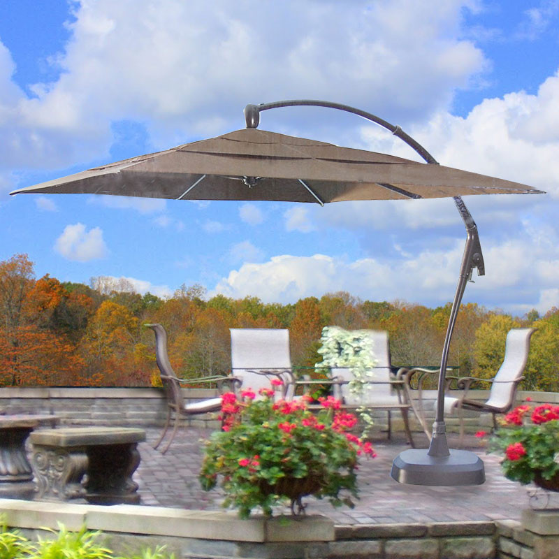 Best ideas about Costco Patio Umbrella . Save or Pin Costco Square Cantilever Umbrella Replacement Canopy Now.