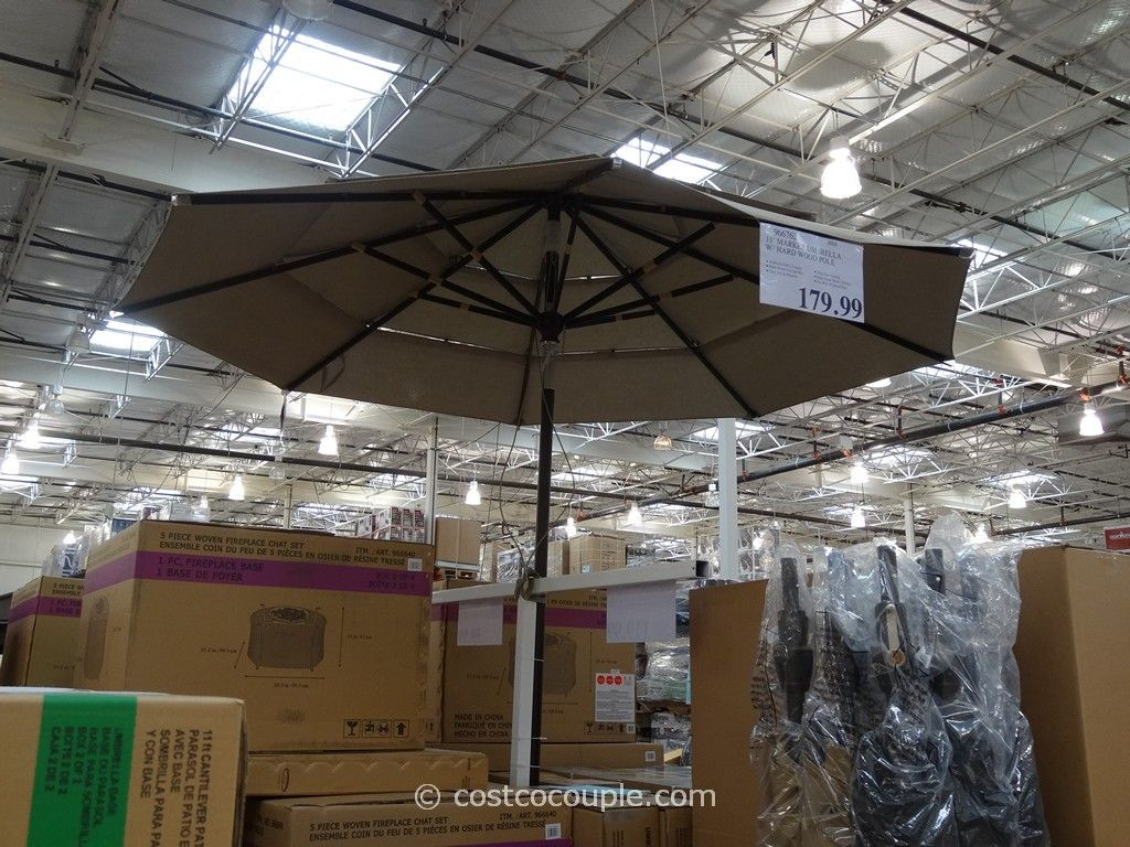Best ideas about Costco Patio Umbrella . Save or Pin 11 Ft Market Umbrella Now.