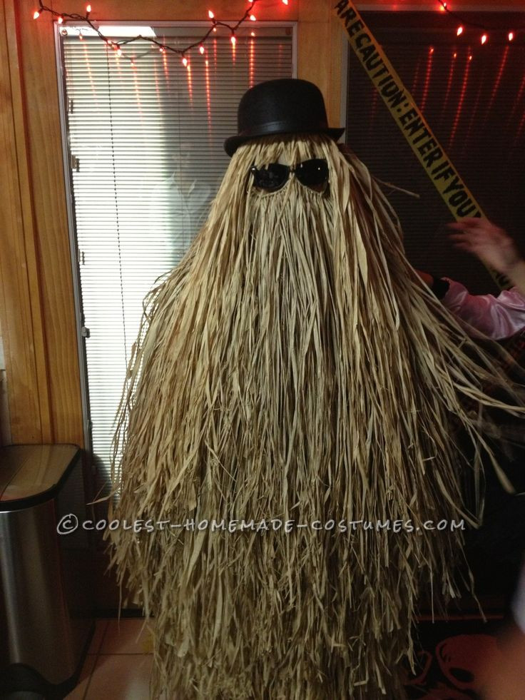 Best ideas about Cousin It Costume DIY . Save or Pin Super Easy DIY Cousin Itt Costume from the Addams Family Now.