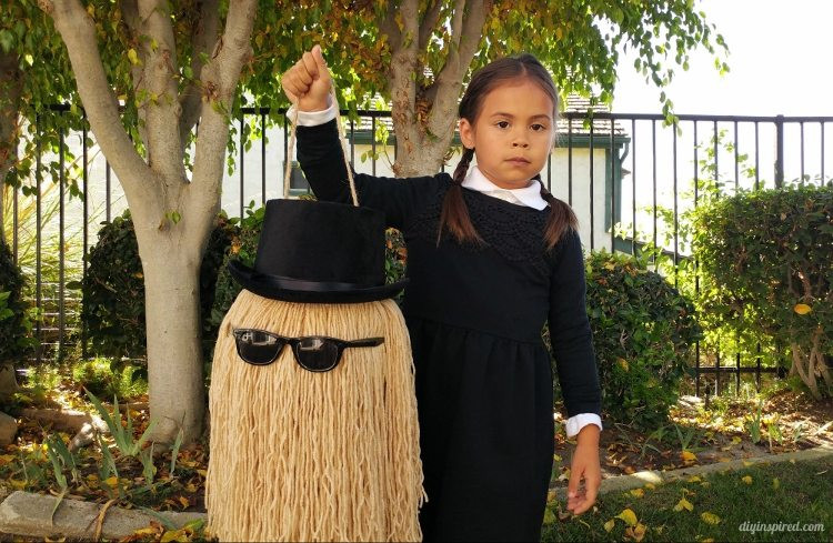 Best ideas about Cousin It Costume DIY . Save or Pin Cousin It DIY Trick or Treat Pail DIY Inspired Now.