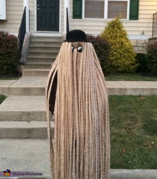 Best ideas about Cousin It Costume DIY . Save or Pin Cousin Itt Homemade Costume Now.