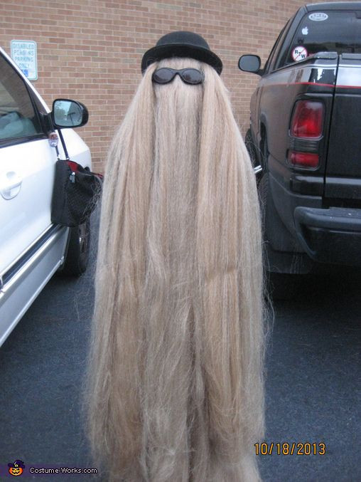 Best ideas about Cousin It Costume DIY . Save or Pin Cousin It Addams Family Costume Now.