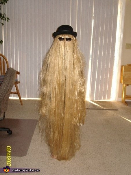 Best ideas about Cousin It Costume DIY . Save or Pin Cousin Itt Costume Now.