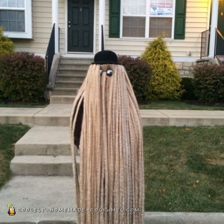 Best ideas about Cousin It Costume DIY . Save or Pin Cool Cousin Itt Costume Now.