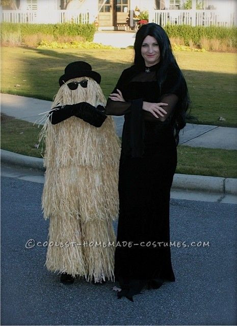 Best ideas about Cousin It Costume DIY . Save or Pin Cool Homemade Cousin Itt Costume This website is the Now.