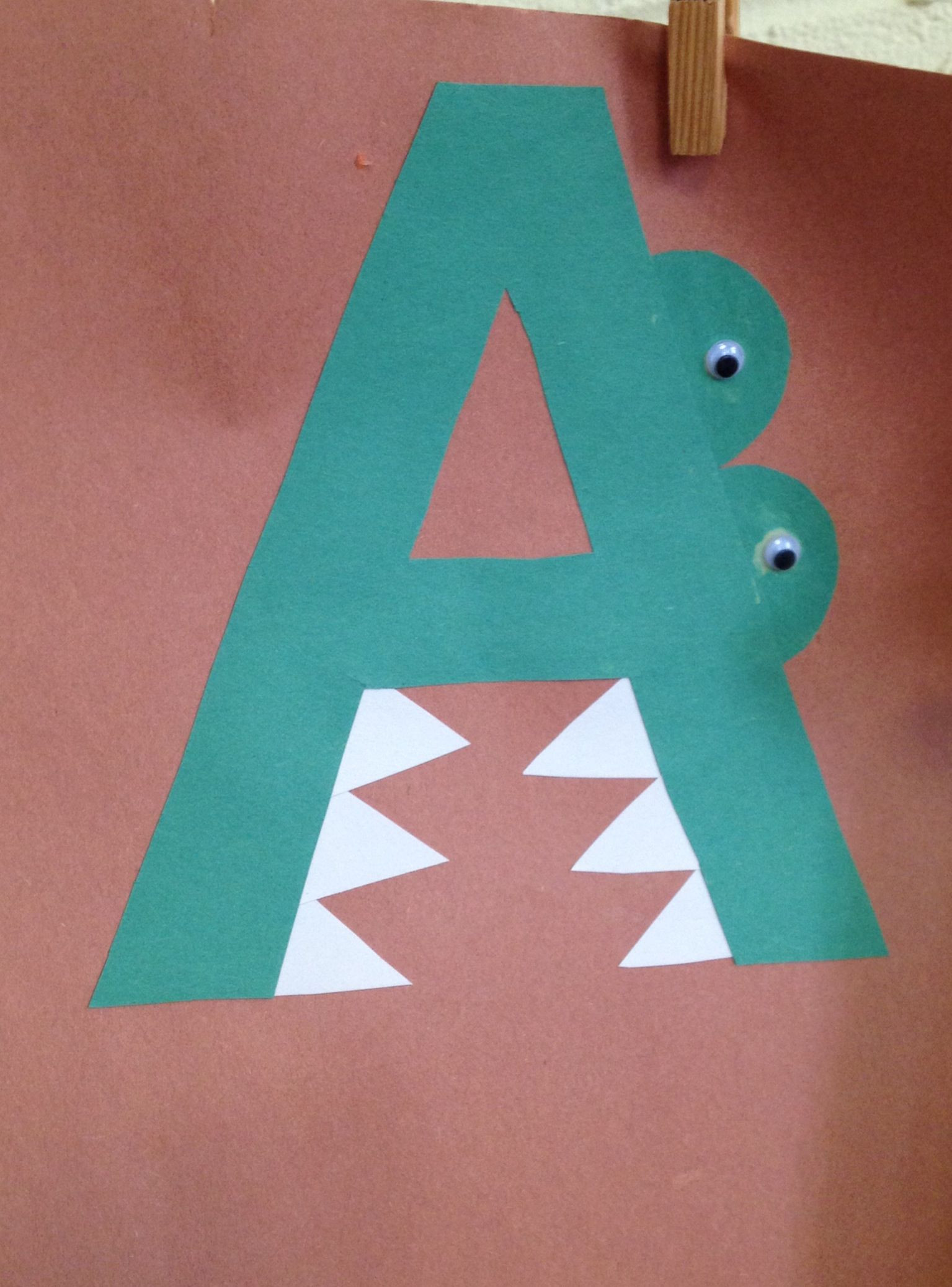 Best ideas about Craft Activities For Preschoolers . Save or Pin Preschool Letter A craft Now.