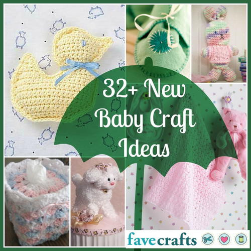 Best ideas about Craft Ideas For Baby Shower Gifts . Save or Pin 32 New Baby Craft Ideas Now.