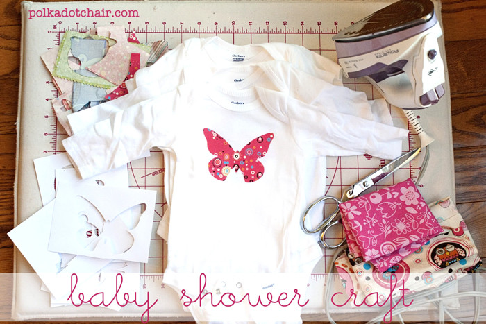 Best ideas about Craft Ideas For Baby Shower Gifts . Save or Pin Baby Shower Crafts Decorate esie s The Polkadot Chair Now.