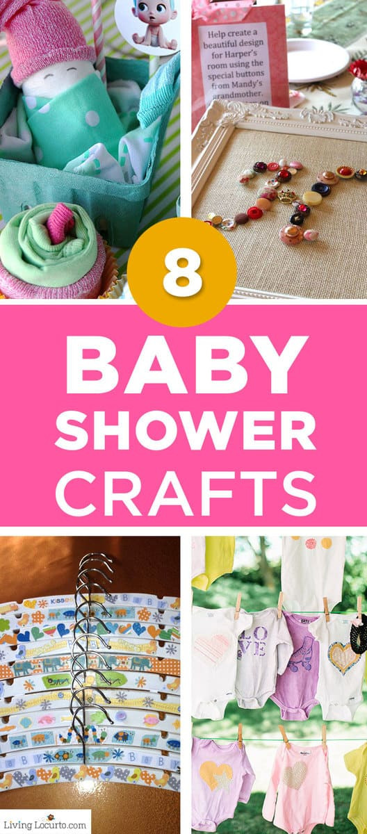 Best ideas about Craft Ideas For Baby Shower Gifts . Save or Pin 8 Baby Shower Crafts for Party Guests Now.