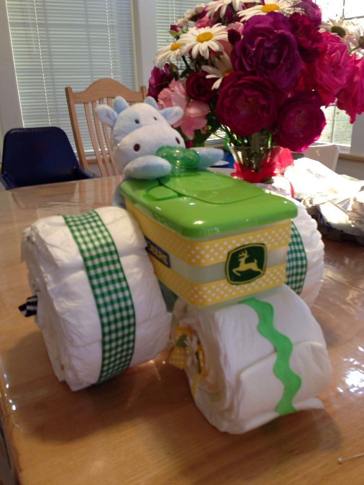 Best ideas about Craft Ideas For Baby Shower Gifts . Save or Pin Best 25 Diaper tractor ideas on Pinterest Now.