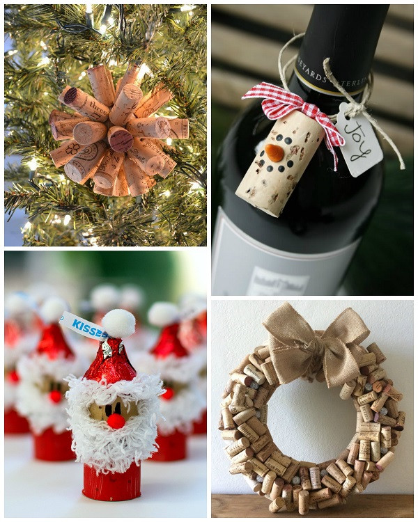 Best ideas about Craft Ideas For Christmas . Save or Pin Wine Cork Christmas Craft Ideas Crafty Morning Now.