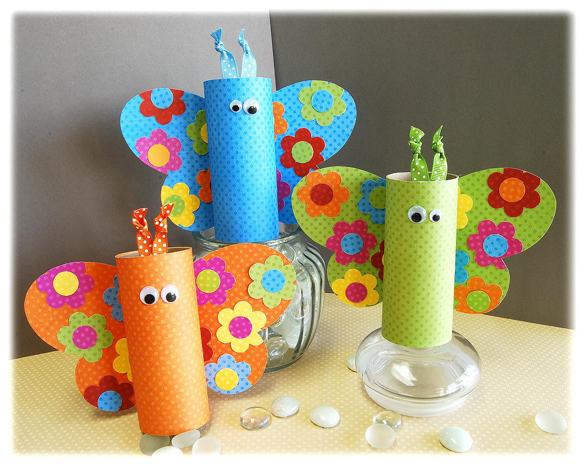 Best ideas about Craft Ideas For Kids With Paper . Save or Pin 10 Spring Kids' Crafts Now.
