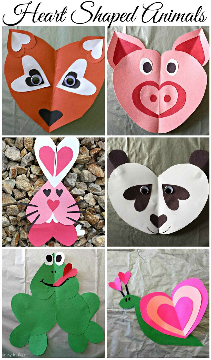 Best ideas about Craft Ideas For Kids With Paper . Save or Pin Valentine s Day Crafts The Idea Room Now.