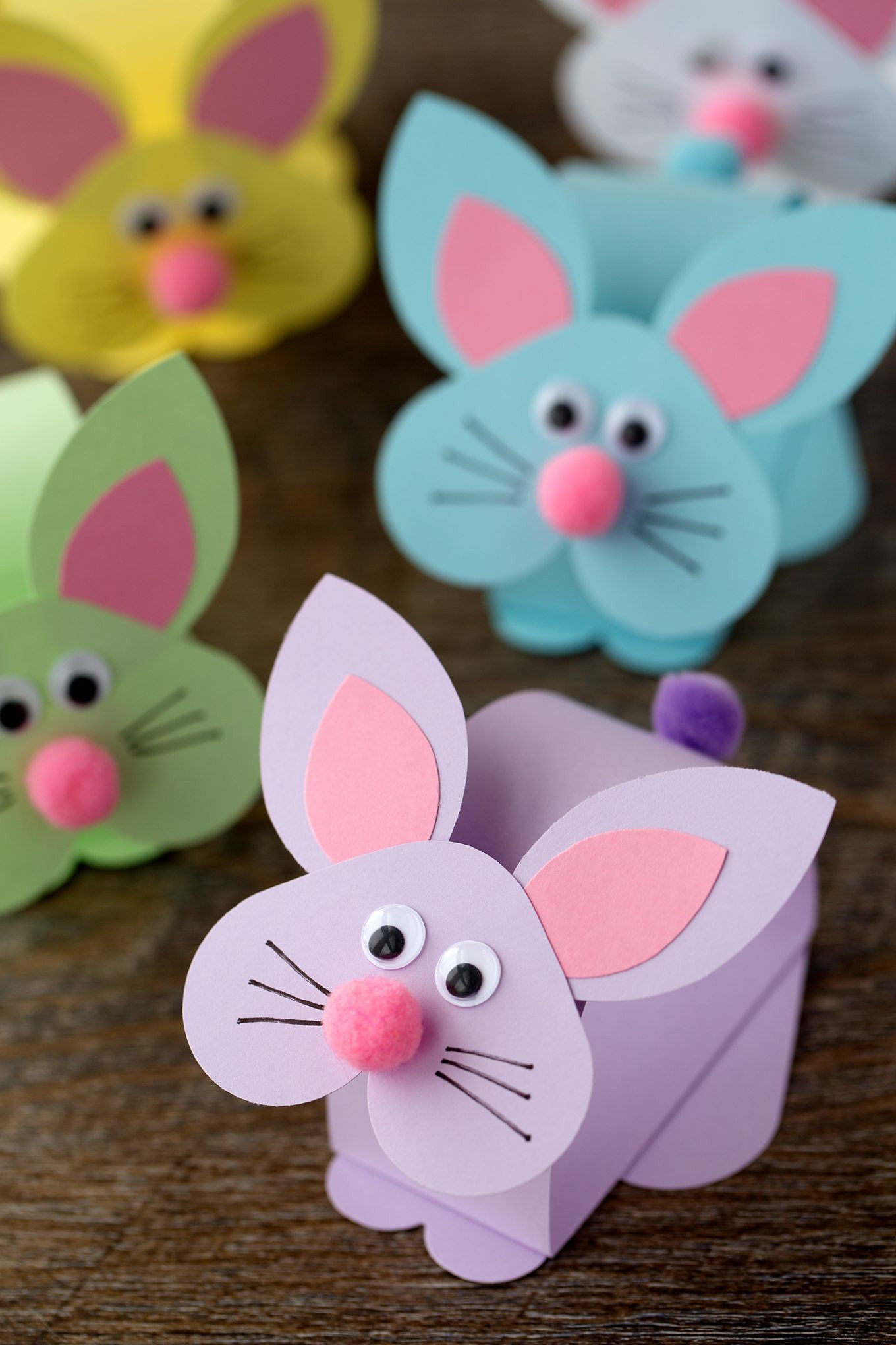Best ideas about Craft Ideas For Kids With Paper . Save or Pin Paper Bobble Head Bunny Craft for Kids Now.