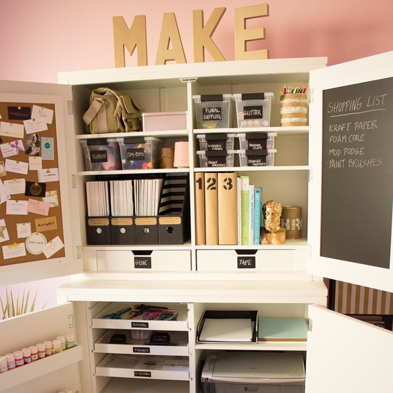 Best ideas about Craft Storage Cabinets . Save or Pin 5 Secrets of a Beautifully Organized Craft Room Now.