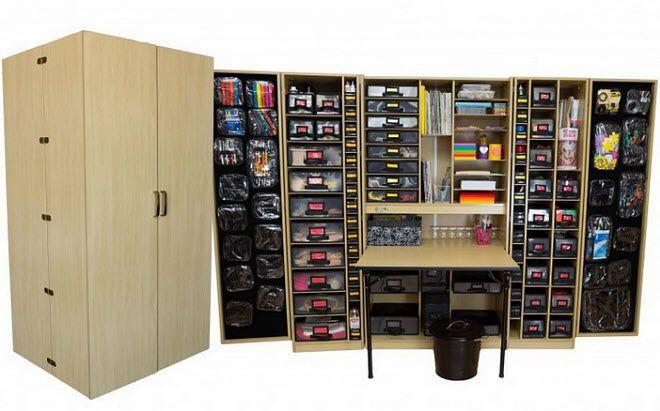 Best ideas about Craft Storage Cabinets . Save or Pin 94 best Original ScrapBox WorkBox images on Pinterest Now.