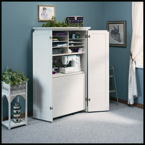 """Best ideas about Craft Storage Cabinets . Save or Pin Sauder Harbor View 35 5"""" Craft bination Cabinet Now."""