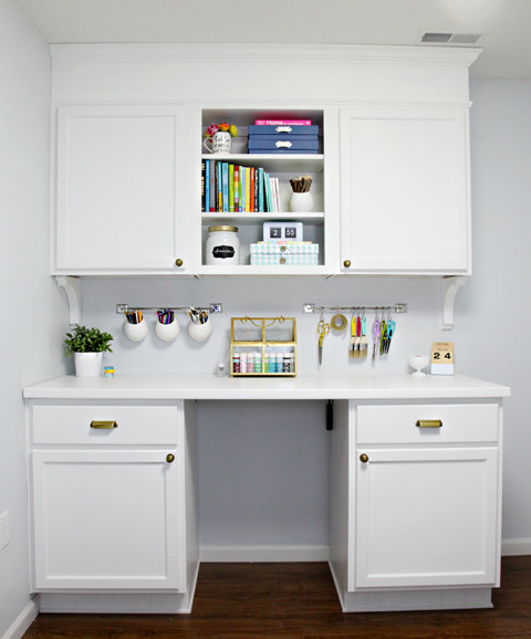 Best ideas about Craft Storage Cabinets . Save or Pin IHeart Organizing Studio Update Cabinet Craft Storage Now.