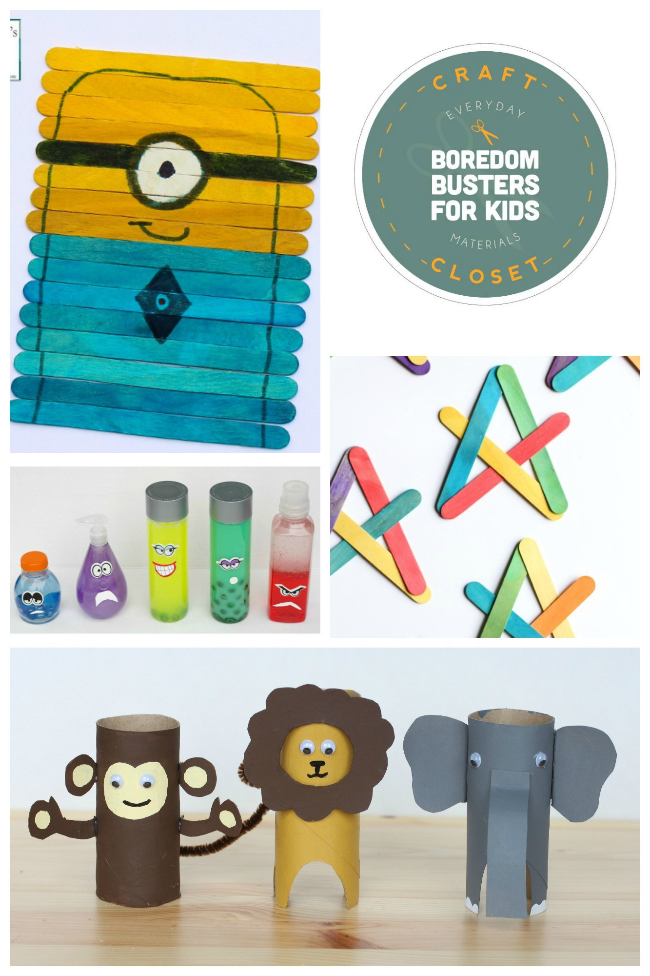 Best ideas about Crafting For Kids . Save or Pin 25 Crafts and Activities for Kids Using Everyday Now.