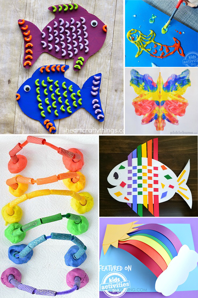 Best ideas about Crafting Ideas For Kids . Save or Pin 25 Colorful Kids Craft Ideas Now.