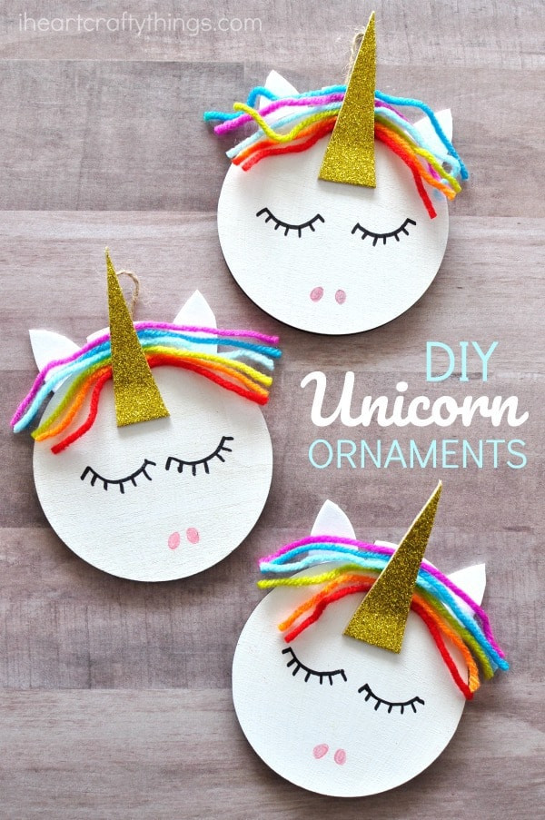 Best ideas about Crafting Ideas For Kids . Save or Pin How to Make a Unicorn Christmas Ornament Now.