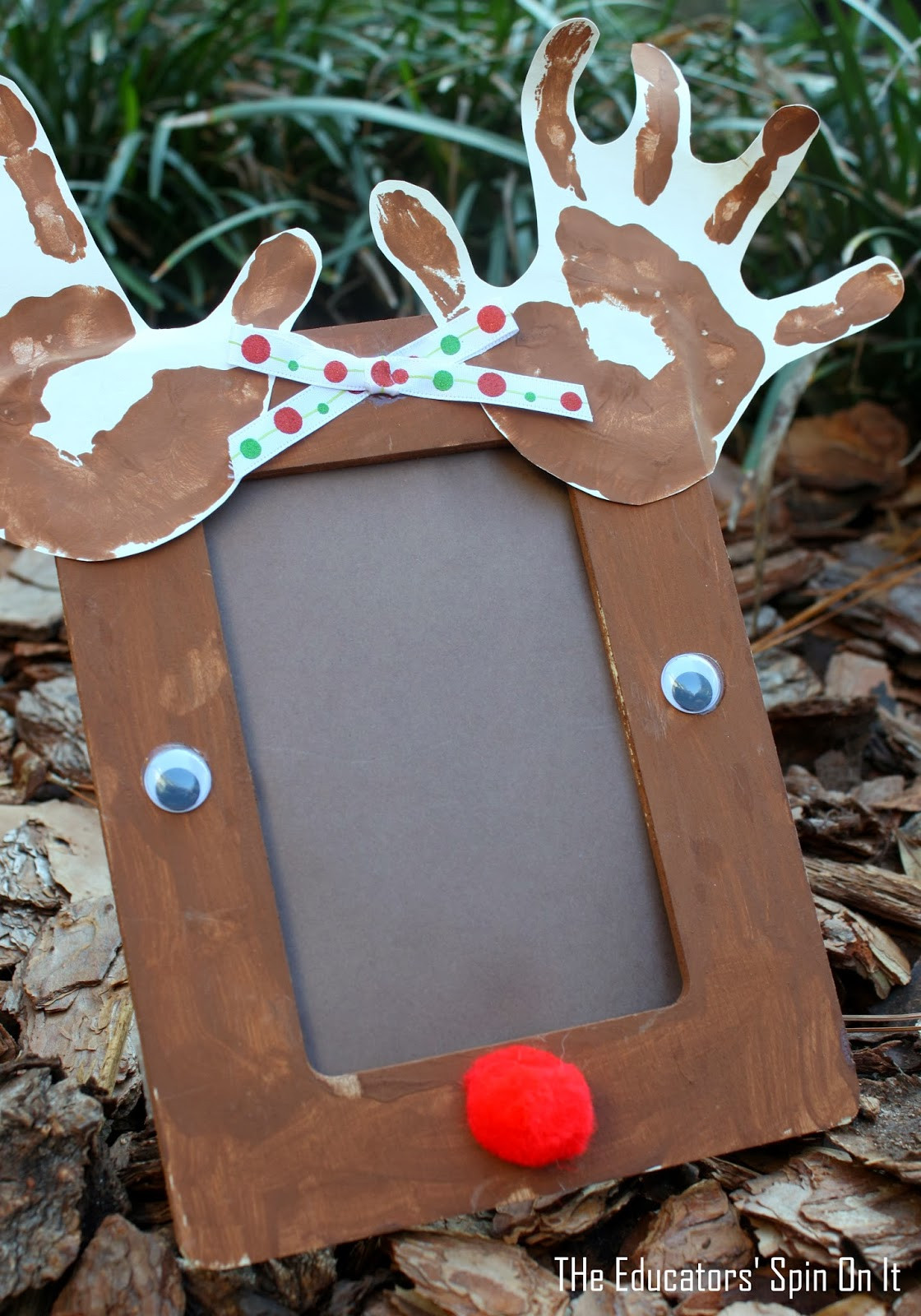 Best ideas about Crafts For Christmas Gifts . Save or Pin The Educators Spin It Preschool Reindeer Crafts and Now.