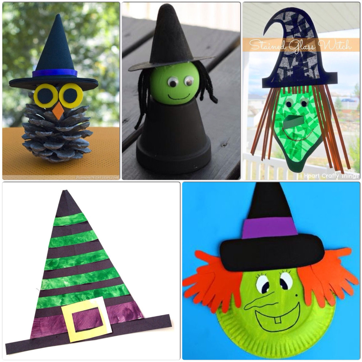 Best ideas about Crafts For Kids . Save or Pin Witch Crafts for Kids – More Halloween Fun Now.