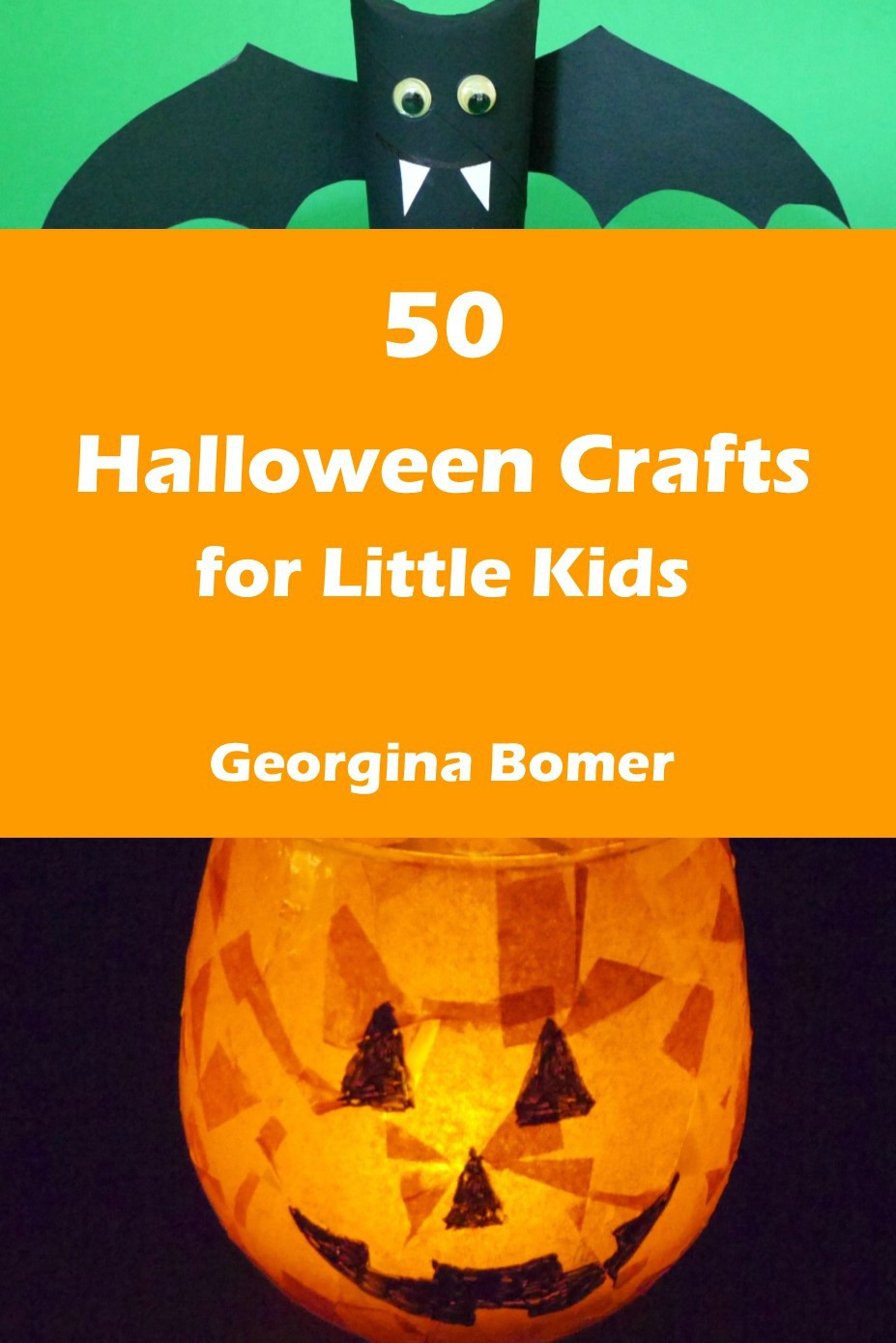 Best ideas about Crafts For Little Kids . Save or Pin 50 Halloween Crafts for Little Kids the book Craftulate Now.