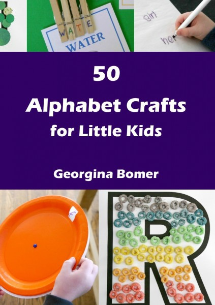 Best ideas about Crafts For Little Kids . Save or Pin 50 Alphabet Crafts for Little Kids Craftulate Now.