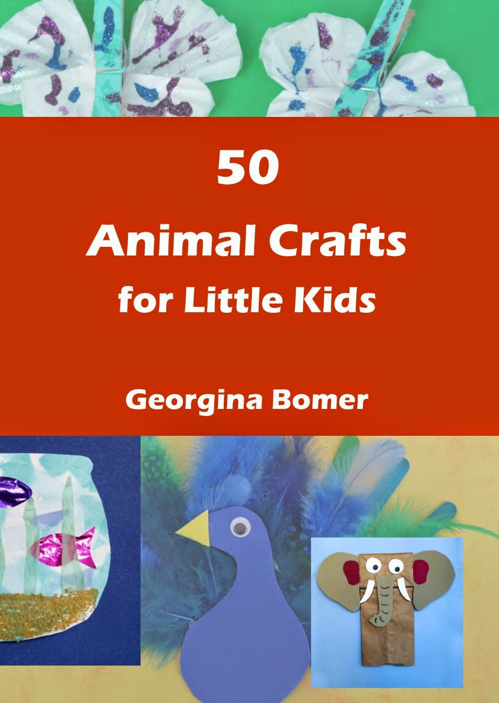 Best ideas about Crafts For Little Kids . Save or Pin Crafty Moms 50 Animal Crafts for Little Kids Book Now.