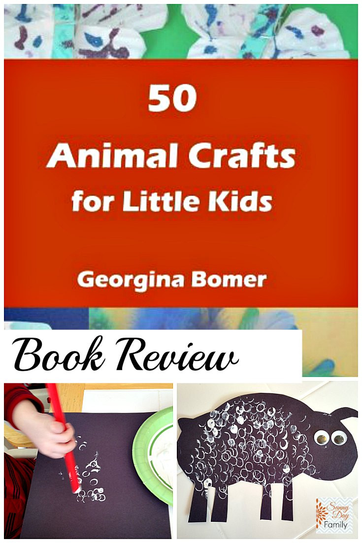 Best ideas about Crafts For Little Kids . Save or Pin 50 Animal Crafts for Little Kids Book Review Now.