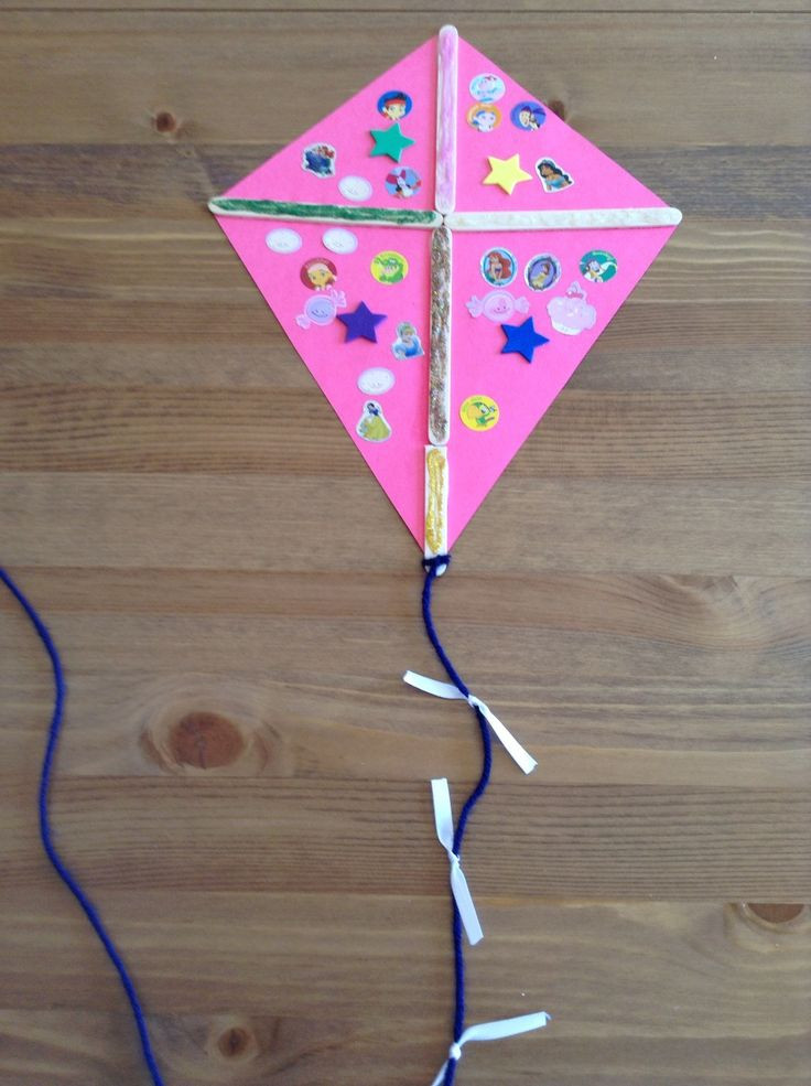 Best ideas about Crafts For Preschool Kids . Save or Pin K is for Kite Craft Preschool Craft Letter of the Week Now.