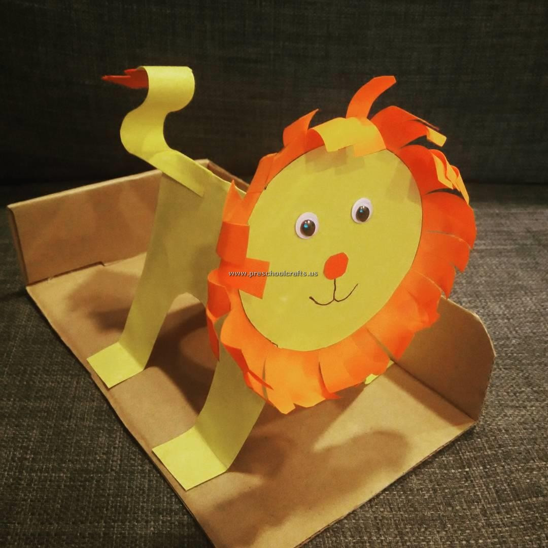 Best ideas about Crafts For Preschool Kids . Save or Pin Roaring with Fun 15 Kids' Crafts Involving Lions Now.