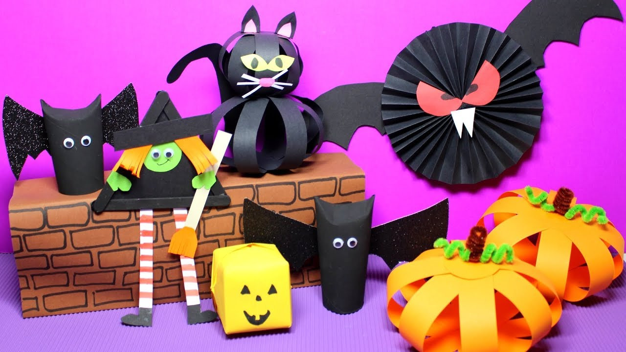 Best ideas about Crafts Ideas For Kids . Save or Pin Easy Halloween Crafts for Kids Now.
