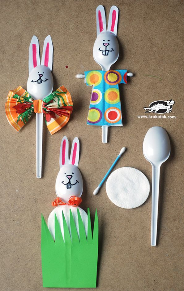 Best ideas about Crafts Ideas For Kids . Save or Pin 10 fun and easy Easter crafts with household objects Now.