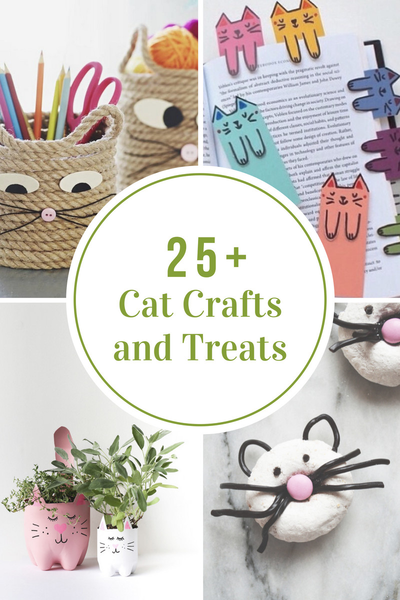 Best ideas about Crafts Ideas For Kids . Save or Pin Cat Craft and Treat Ideas for Kids The Idea Room Now.
