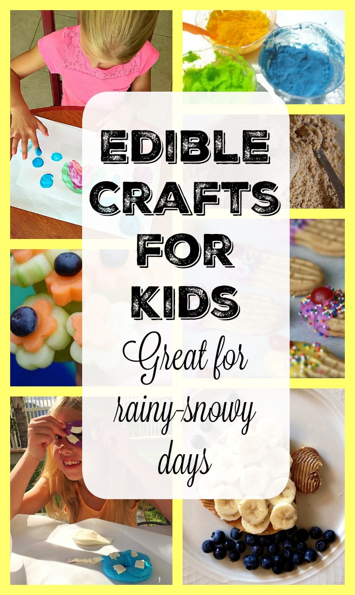 Best ideas about Crafts To Do At Home For Kids . Save or Pin Edible Crafts for Kids · The Typical Mom Now.