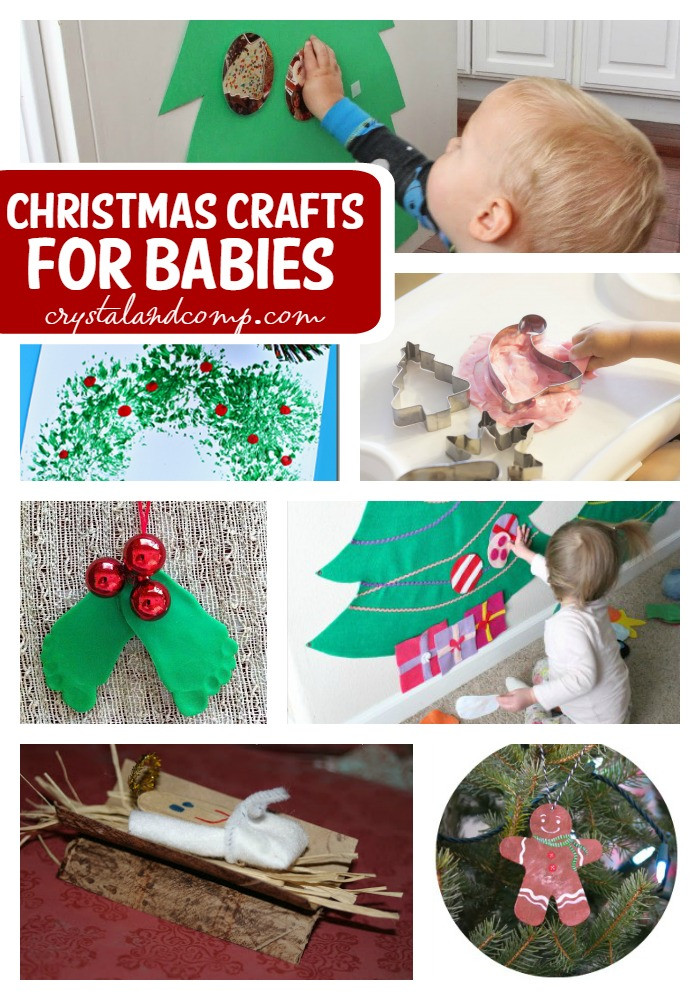 Best ideas about Crafts To Do With Baby . Save or Pin Christmas Crafts for Babies Now.