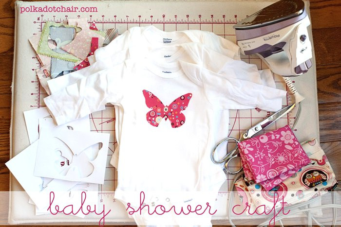 Best ideas about Crafts To Do With Baby . Save or Pin Baby Shower Crafts Decorate esie s The Polkadot Chair Now.