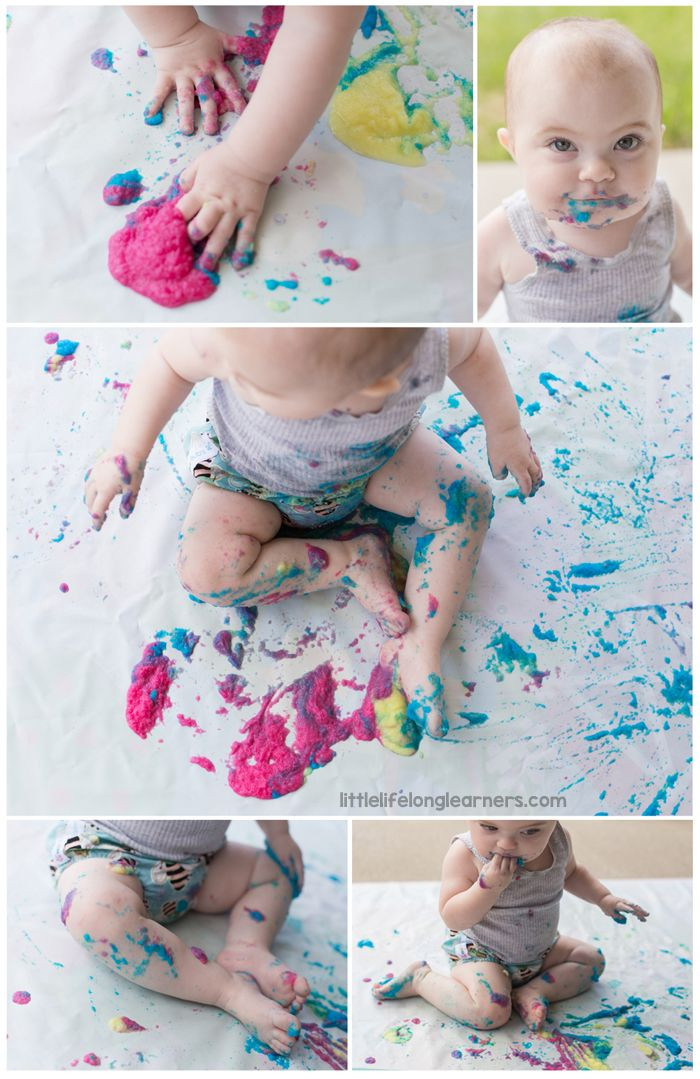 Best ideas about Crafts To Do With Baby . Save or Pin Edible Painting for Babies Now.