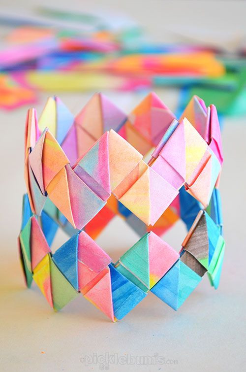 Best ideas about Crafts To Make For Kids . Save or Pin 18 Easy Paper Crafts for Kids You ll Want to Make Too Now.