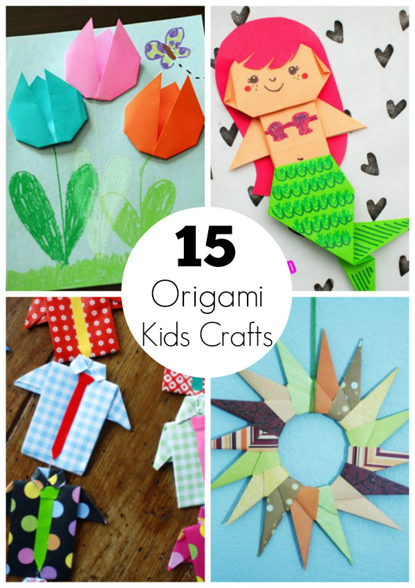 Best ideas about Crafts To Make For Kids . Save or Pin 15 Origami Paper Crafts for Kids to Create Now.