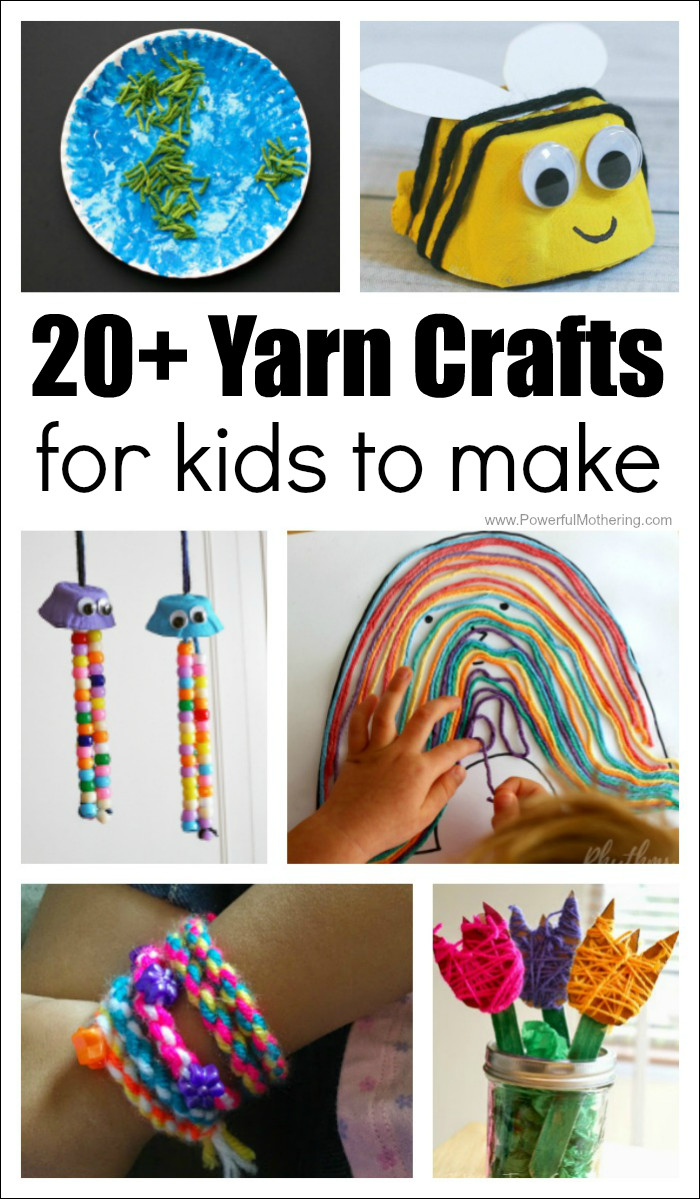 Best ideas about Crafts To Make For Kids . Save or Pin 20 Absolutely Fantastic Yarn Crafts for Kids to Make Now.