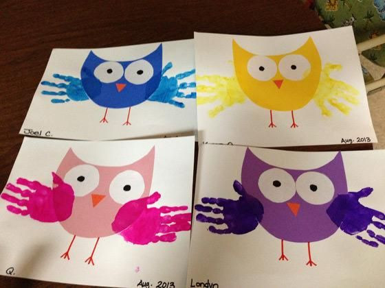Best ideas about Creative Activities For Preschoolers . Save or Pin 8 Easy and creative handprint Kids craft ideas with craft Now.