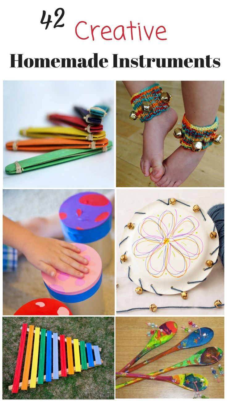 Best ideas about Creative Activities For Preschoolers . Save or Pin Splendidly Creative and simple Homemade Instruments Now.